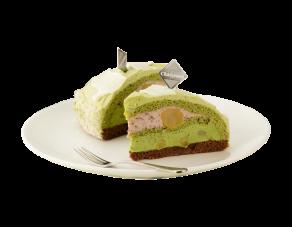 Green Tea Dome Cake